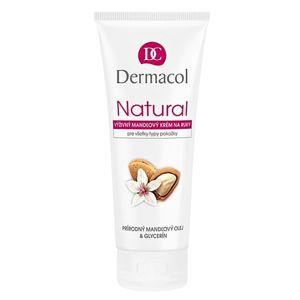 Dermacol Natural tápláló mandula krém kézre és körmökre 100 ml
