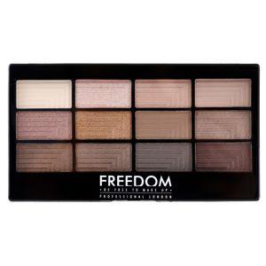 Freedom Pro 12 Audacious 3 szemhéjfesték paletta applikátorral 12 g