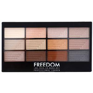 Freedom Pro 12 Le Fabuleux szemhéjfesték paletta applikátorral 12 g
