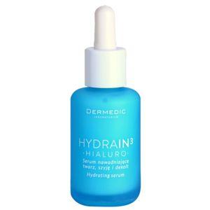 Dermedic Hydrain3 Hialuro hidratáló arcszérum száraz és nagyon száraz bőrre