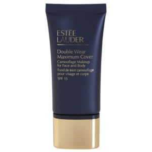 Estée Lauder Double Wear Maximum Cover fedő make-up arcra és testre árnyalat 4N2 Spice Sand SPF 15 30 ml