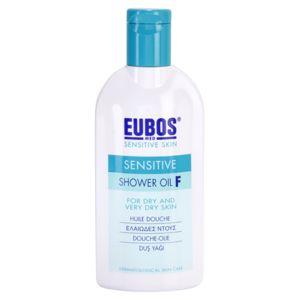 Eubos Sensitive tusoló olaj Száraz, nagyon száraz bőrre