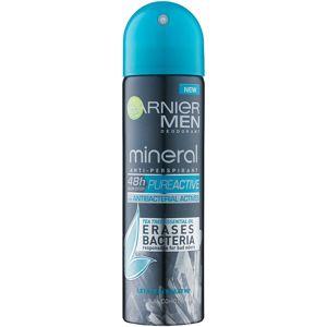 Garnier Men Mineral Pure Active izzadásgátló spray -ben