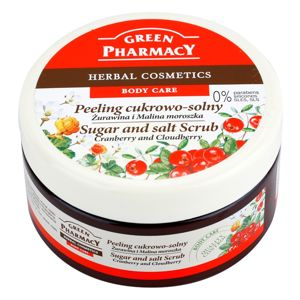 Green Pharmacy Body Care Cranberry & Cloudberry cukor és só peeling