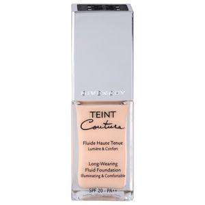 Givenchy Teint Couture hosszan tartó folyékony make-up SPF 20 árnyalat 03 Elegant Sand 25 ml