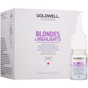 Goldwell Dualsenses Blondes & Highlights szérum a szőke és melírozott hajra