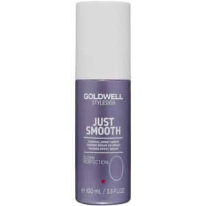 Goldwell StyleSign Just Smooth termálszérum spray formában a hajformázáshoz, melyhez magas hőfokot használunk