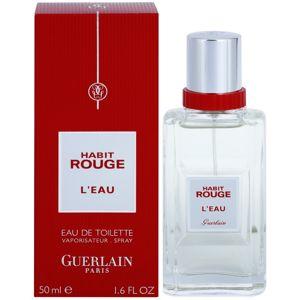 Guerlain Habit Rouge L'Eau eau de toilette uraknak