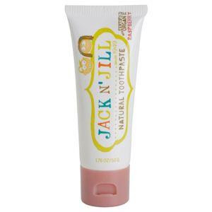 Jack N' Jill Natural természetes fogkrém gyermekeknek málna ízesítéssel