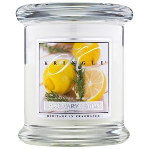 Kringle Candle Rosemary Lemon illatos gyertya