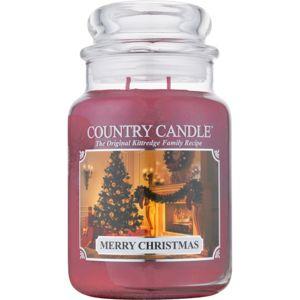 Country Candle Merry Christmas illatos gyertya 652 g