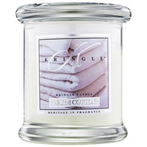Kringle Candle Warm Cotton illatos gyertya