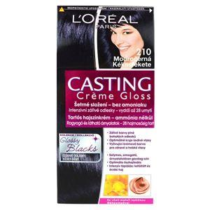 L'Oréal Paris Casting Crème Gloss fokozatosan kimosható helyszínező krém árnyalat 210 Blue Black