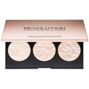 Makeup Revolution Rose Lights bőrvilágosító paletta 11,5 g