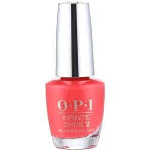 OPI Infinite Shine 2 körömlakk árnyalat Cajun Shrimp 15 ml