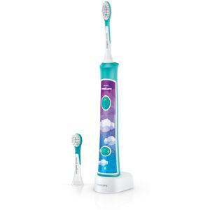 Philips Sonicare For Kids HX6322/04 szónikus elektromos gyermek fogkefék Bluetooth összeköttetéssel
