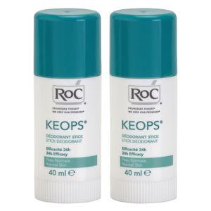 RoC Keops izzadásgátló deo stift 24h 2x40 ml