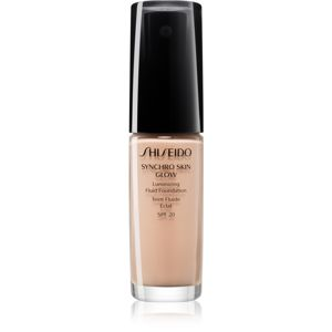 Shiseido Makeup Synchro Skin Glow Luminizing Fluid Foundation élénkítő make-up SPF 20