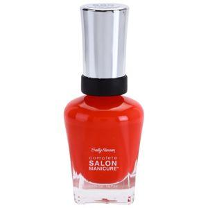 Sally Hansen Complete Salon Manicure körömerősítő lakk árnyalat 560 Kook A Mango 14,7 ml