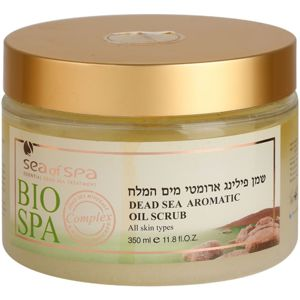 Sea of Spa Bio Spa olajos peeling testre