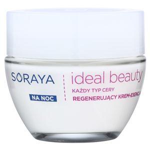 Soraya Ideal Beauty regeneráló éjszakai krém minden bőrtípusra