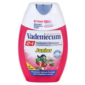 Vademecum 2 in1 Junior fogkrém + szájvíz egyben