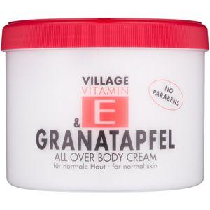 Village Vitamin E Pomegranate testápoló krém