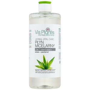 Vis Plantis Herbal Vital Care Aloe Juice & Panthenol micellás víz 3 az 1-ben