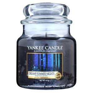 Yankee Candle Dreamy Summer Nights illatos gyertya Classic közepes méret 411 g
