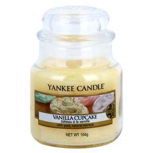 Yankee Candle Vanilla Cupcake illatos gyertya Classic kis méret