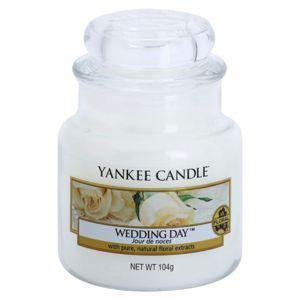 Yankee Candle Wedding Day illatos gyertya Classic kis méret